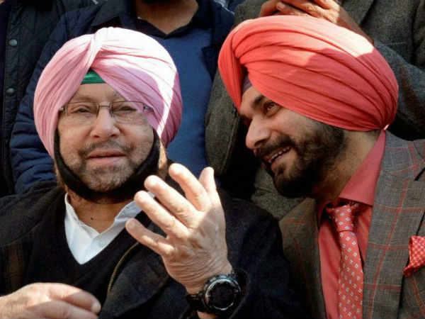 Capt Amarinder Singh Takes Oath Today Eyes On Navjot Singh Sidhu Role
