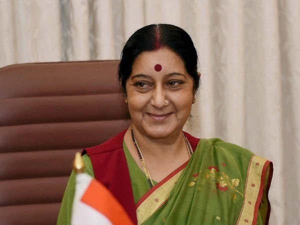 Sushma Swaraj Comes A Rescue An Indian Woman