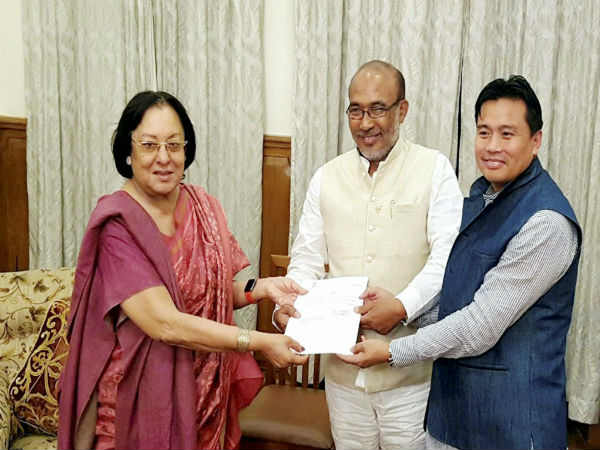 Bjp S First Government Manipur Chief Ministership Biren Singh Will Take Oath Today