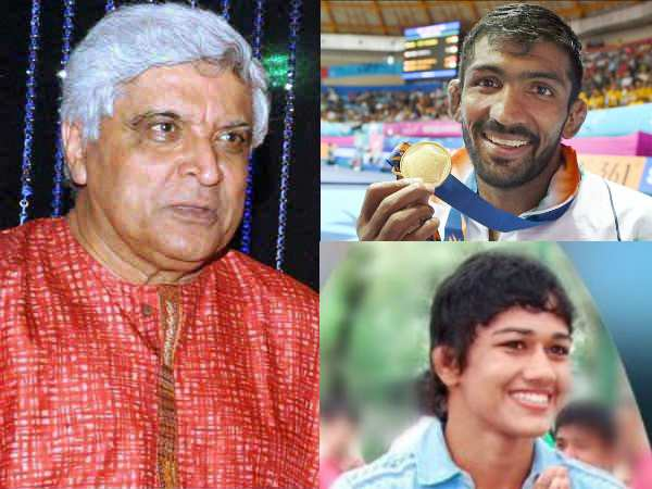 Javed Akhtar Tweets On Gurmehar Issue Babita Phogat Yogeshwar Answers
