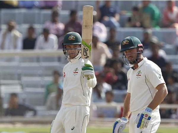 રાંચીમાં ભારત અને ઓસ્ટ્રેલિયા વચ્ચે રમાયેલી ટેસ્ટ મેચ થઇ ડ્રો