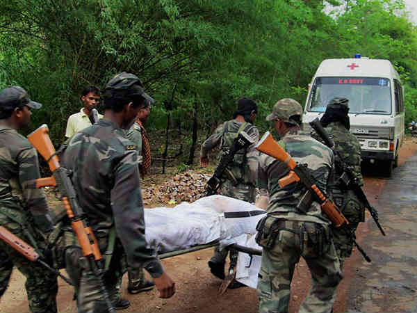 Crpf Jawans Have Lost Their Lives Maoist Attack Sukma Chhattisgarh