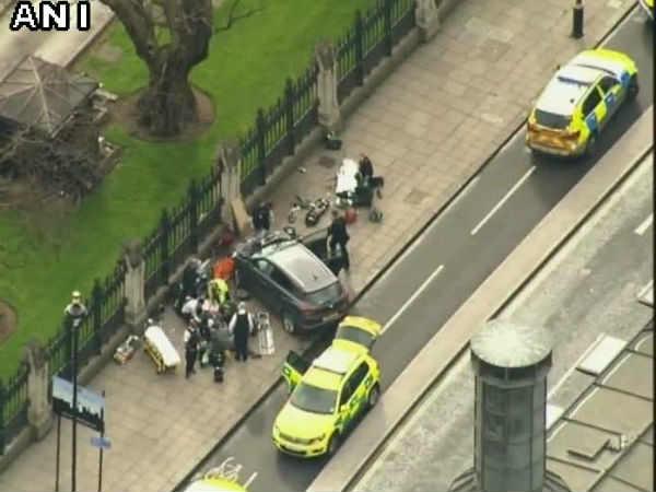 લંડનમાં સંસદ બહાર આંતકી હુમલો, 5નું મૃત્યુ