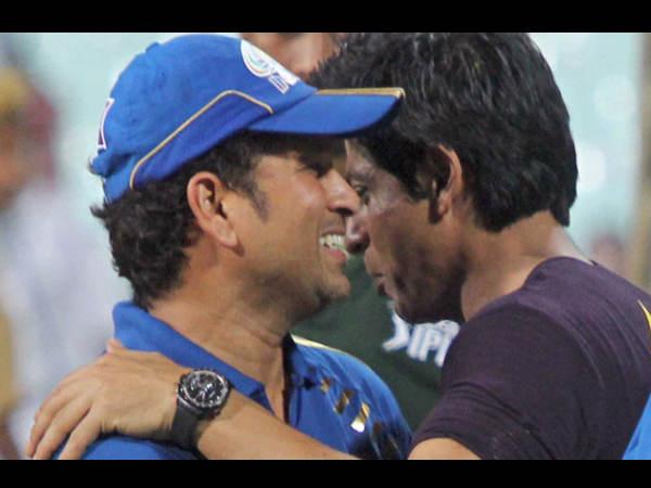 ક્રિકેટના ગોડ સચિનને SRKનો સ્પેશ્યિલ મેસેજ...