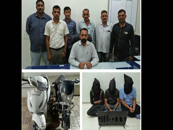 Ipl Match Baroda Police Arrested 3 People Playing Satta