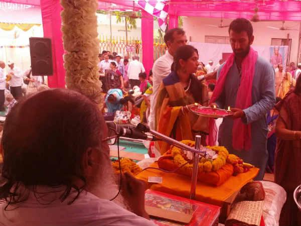 Cricketer Cheteshwar Pujara Follow This Religious Guru