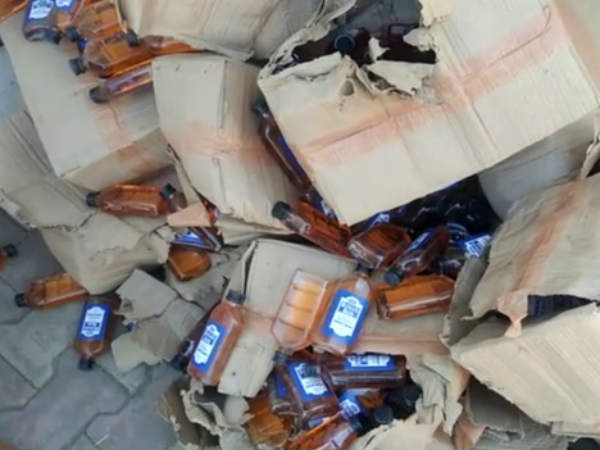 Vadodara Police Seized Worth 60 Lakhs Liquor