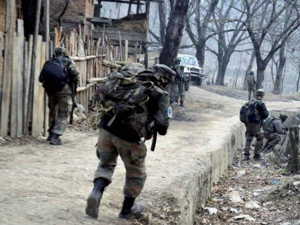 Terrorists Attack Army Camp In Kupwara Jk