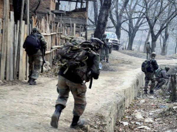 Terrorists Attack Army Camp In Kupwara Jk