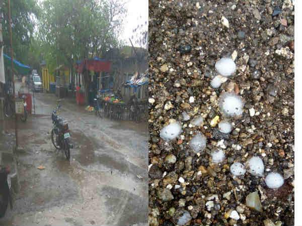 હવામાન અને તાપમાન બન્નેનો યુટર્ન : સૌરાષ્ટ્રમાં કમોસમી વરસાદ