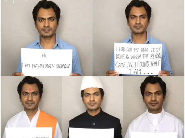 Nawazuddin Siddiqui Latest Video Is Must Watch For Every Indian Citizen