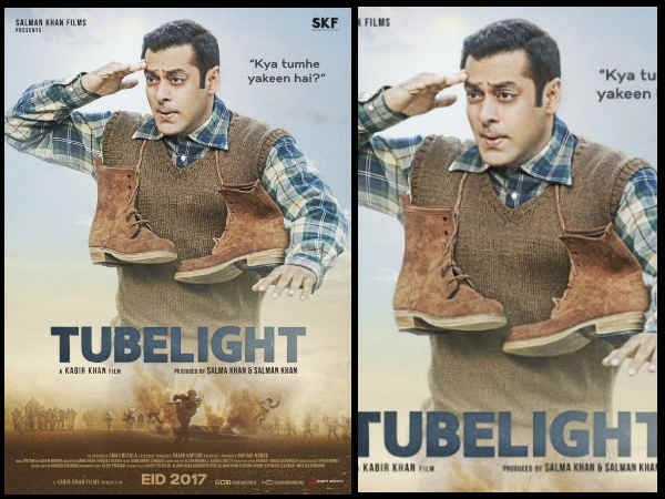 Salman Khan Tubelight Poster Salman Ka Salaam