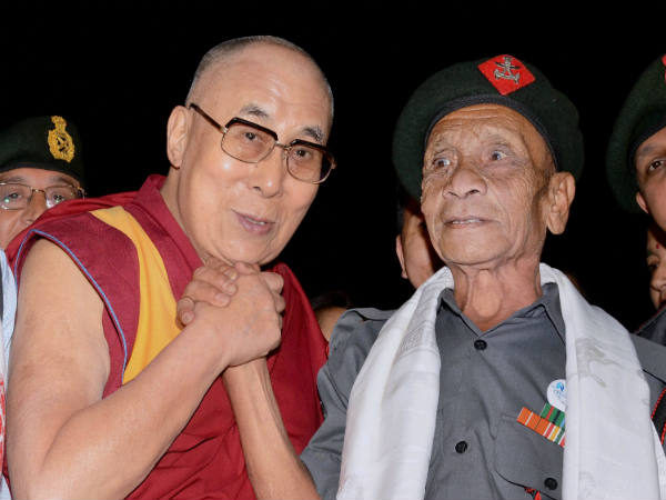 Dalai Lama Saluted Indian Soldier Naren Chandra Das