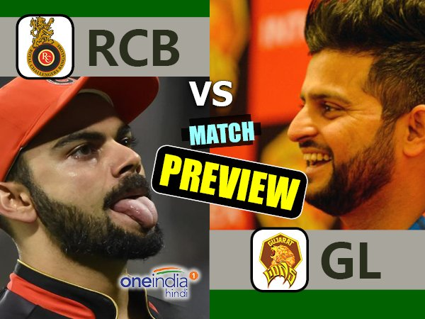 Preview Ipl 2017 Match 20 Gujarat Lions Vs Royal Challengers Bangalore