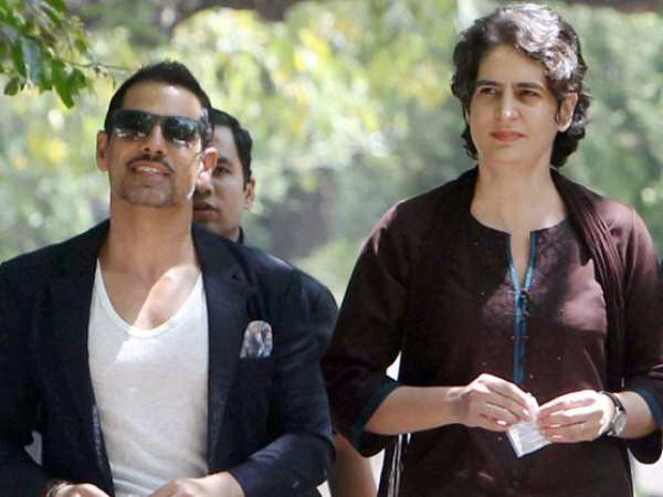Priyanka Gandhi Says No Link With Husband Robert Vadra Finances