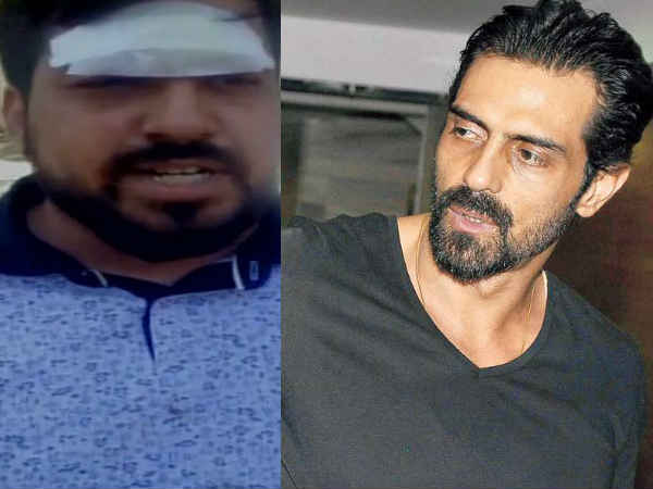 Arjun Rampal Denies Assault Allegations On Twitter