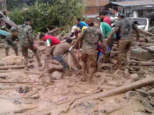 Above 200 People Died Colombia Mudslide