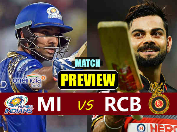 Preview Ipl 2017 Match 12 Bangalore Vs Mumbai On April