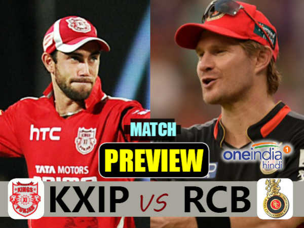 Preview Ipl 2017 Match 8 Punjab Vs Bengaluru On April 10 Ind