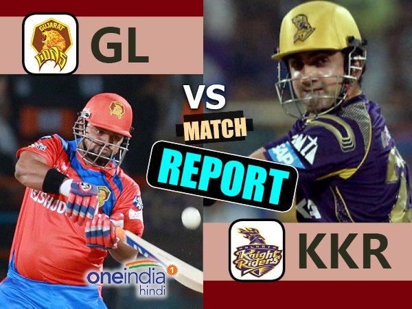 Ipl 2017 Kolkata Knight Riders Vs Gujarat Lions 23rd Match Live Score From Eden Gardens Kolkata