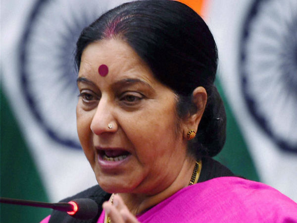 Sushma Swaraj Takes Note Indian National Vikram Jaryal Shot Dead Washington