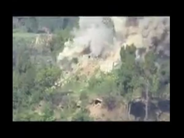 Indian Army Destroys Pakistani Army Bunkers Anti Guided Missile