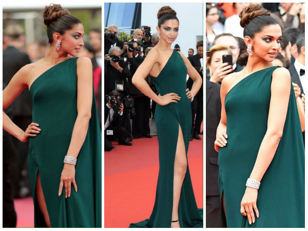 Cannes Day Two Deepika Padukone Walks The Red Carpet Looks Fierce New Pictures