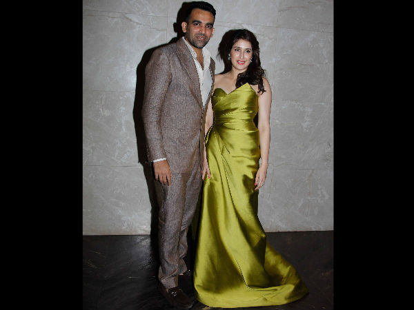 Virat Kohli Cricketers Attend Zaheer Khan S Engagement Champions Trophy