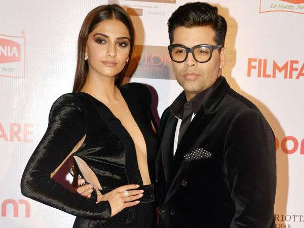 This Is What Sonam Kapoor Keeps Telling Karan Johar About His Poor Fashion Sense
