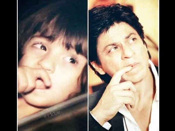 Abram Khan Pics He Exactly Looks Like Papa Shah Rukh Khan