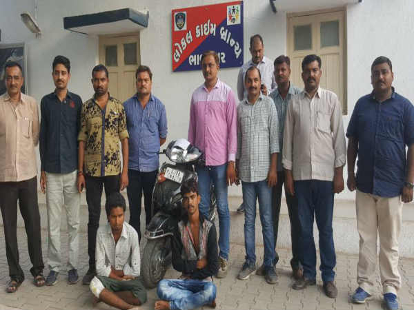 Bhavnagar Lcb Police Are Two Persons Were Arrested With The