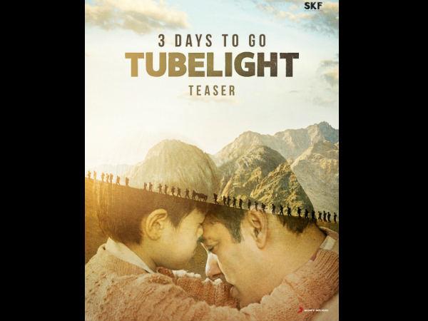 Tubelight Teaser Countdown Poster Starring Salman Khan