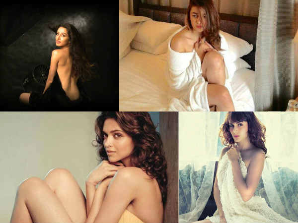 Bollywood Actresses Bold Photo Shoot Towel