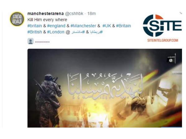 માન્ચેસ્ટર વિસ્ફોટ પછી ISIS સમર્થકોનું ટ્વીટઃ ખૂબ મારો બધાને