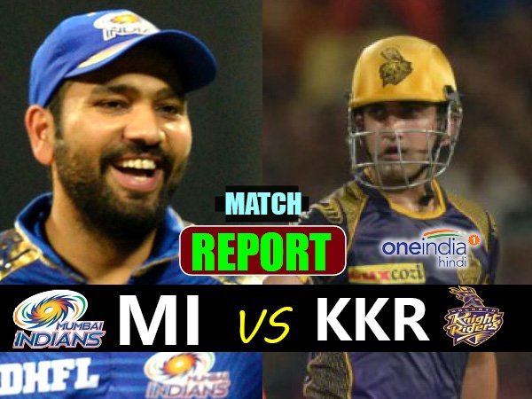Ipl 2017kolkata Knight Riders Vs Mumbai Indians 54th Match L