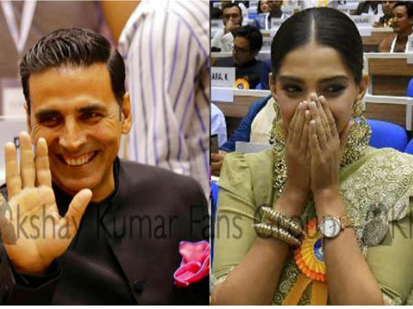 Akshay Kumar Sonam Kapoor Receive Their National Awards