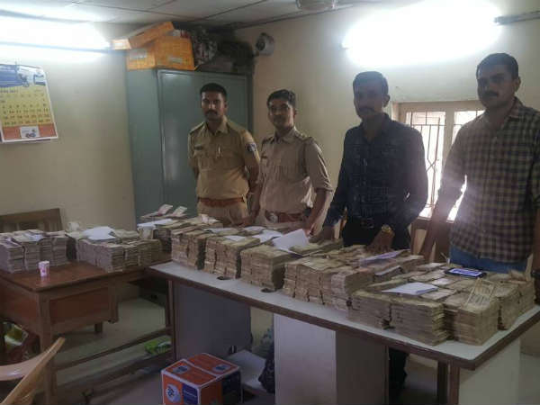 Surat Police Arrested 5 People With 5 80 Crore Old Currency