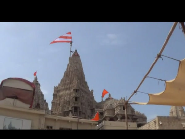 Dwarka Temple Good News Pilgrims They Can Use Three Gates Of Temple Now