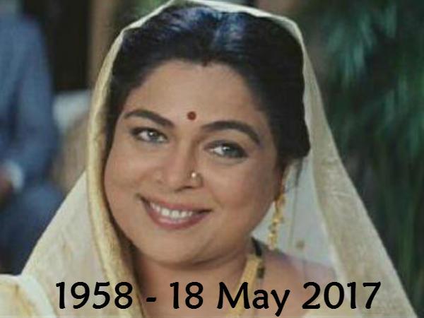 RIP: બોલિવૂડના દિગ્ગજ અભિનેત્રી રીમા લાગુનું નિધન