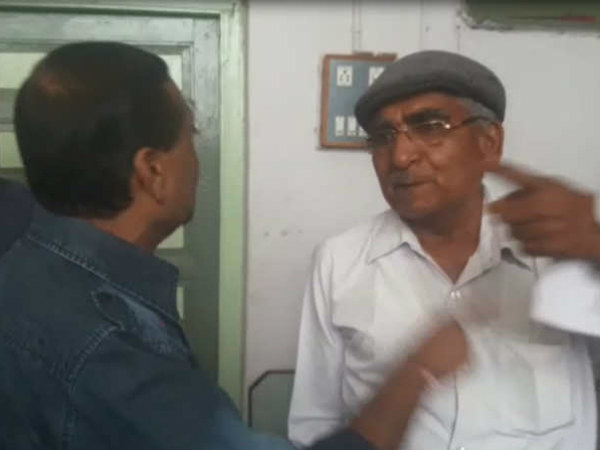 Botad Market Yard Video Fight Between Ex Chairman New Chaiman Become Viral