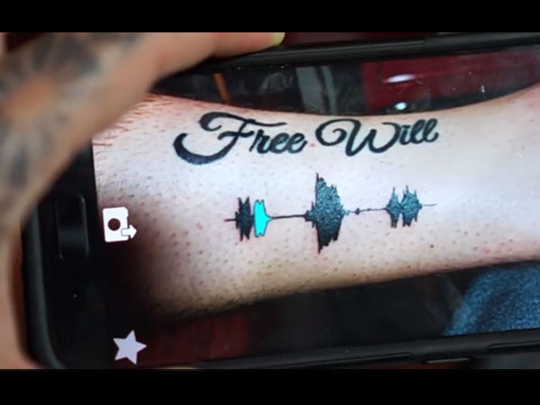 Video Tattoo That You Can Listen You Can Hear Its Voice