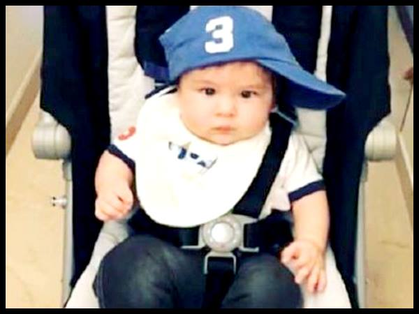 Taimur Ali Khan Is The Coolest Star Kid Around Viral Photo