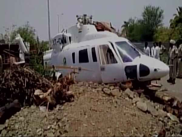 Chopper With Maharashtra Cm Devendra Fadnavis Onboard Crash Lands In Latur