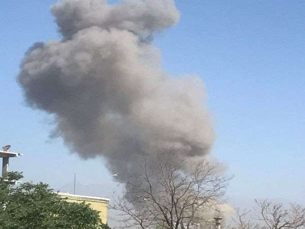A Huge Explosion Has Hit The Afghan Capital Kabul On Wednesd