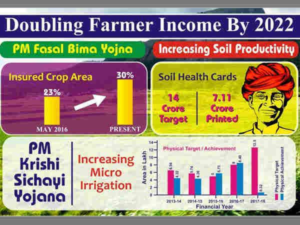 શું 2022 સુધીમાં ખેડૂતોની કમાણી બમણી કરી શકશે મોદી સરકાર?