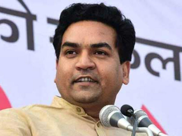 Sacked Delhi Minister Kapil Mishra Says Kejriwal Conspiring Against Him
