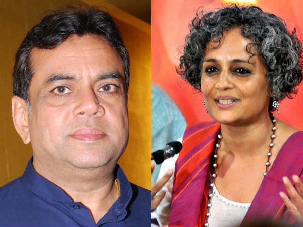 Tie Arundhati Roy To The Jeep Instead Of The Stone Pelter Paresh Rawal