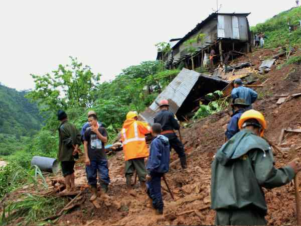 Six People Killed The Landslides Meghalaya