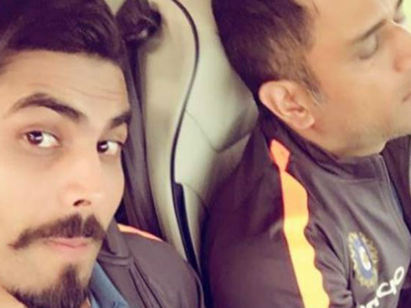 Ravindra Jadeja Takes Rare Photo Ms Dhoni Is Happy About It See Pics