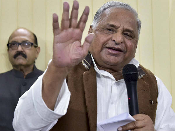 Rss Still The Race For Next President India Mulayam Offers Support With A Condition